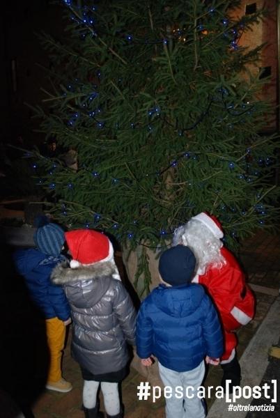 Spoltore accensione albero di Natale (1)
