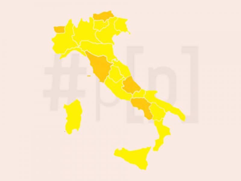 mappa-italia-zone-arancioni-gialle-13-dicembre-2020