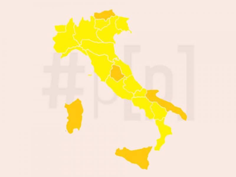 mappa-italia-covid-regioni-1-febbraio