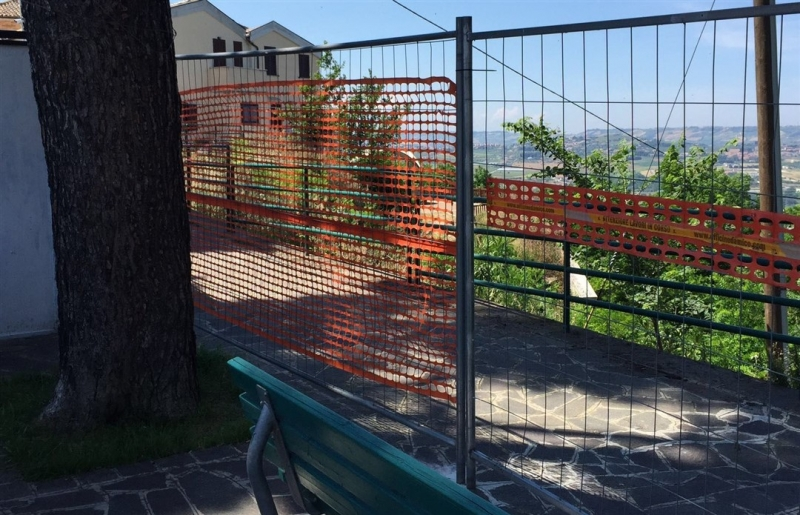 marciapiede rischio frana via togliatti montesilvano colle (2)