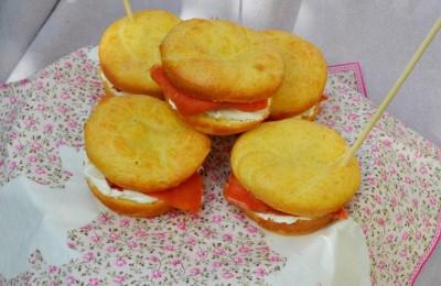 Muffin salati salmone philadelphia