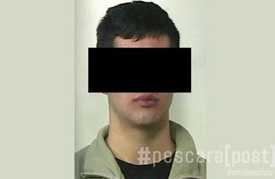 inseguimento sperona carabinieri arrestato