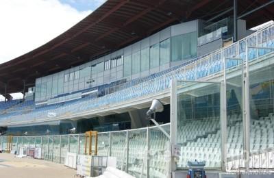 stadio adriatico tribuna interno