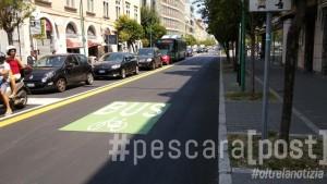 via conte di ruvo corsia bici bus (6)