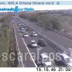 autostrada traffico incidente