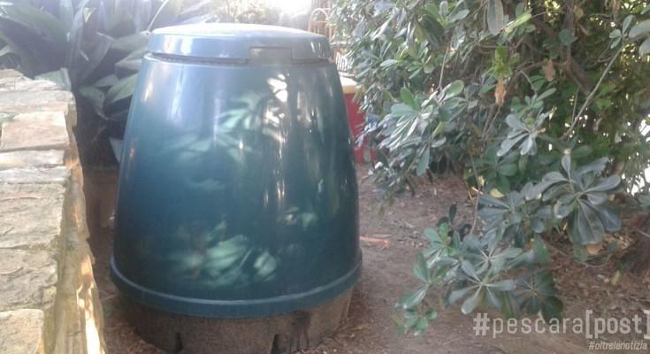 compostaggio domestico compostiera