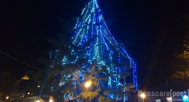 Albero Di Natale Grande.Accensione Albero Di Natale Piu Grande D Abruzzo A Pianella Il