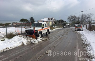 spazza neve montesilvano