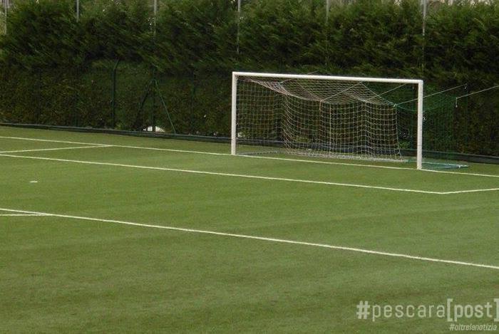 Spoltore lavori al campo sportivo presentato progetto al - Misure porta di calcio ...