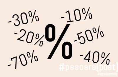 saldi percentuali offerte