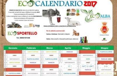 calendario differenziata penne 2017