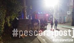 incidente sambuceto auto ribaltata pontemarino