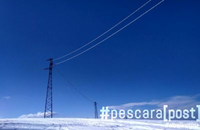 energia elettrica corrente neve