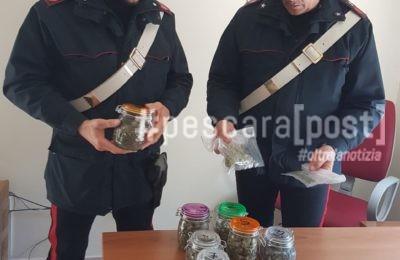 droga casa chieti scalo carabinieri