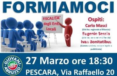 incontro forza italia giovani abruzzo 27 marzo