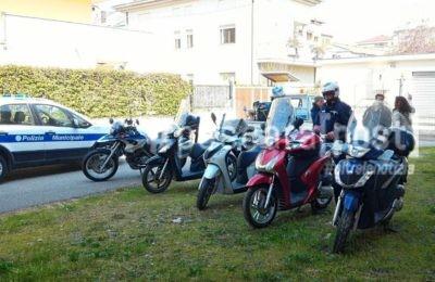 moto scooter rubati scuola