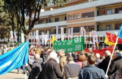 protesta ospedale popoli pescara