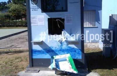 casetta acqua francavilla distrutta