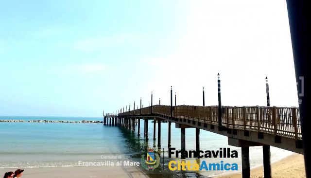 francavilla al mare pontile video