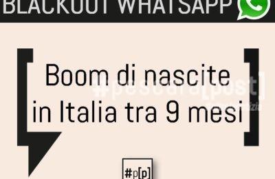 blackout whatsapp