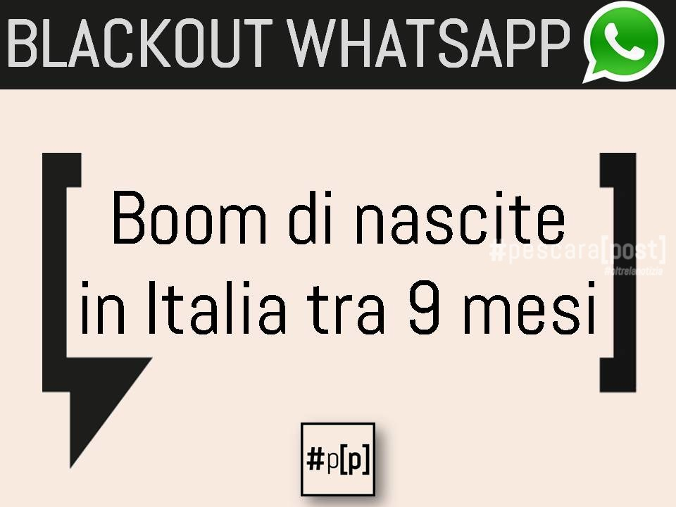 blackout whatsapp