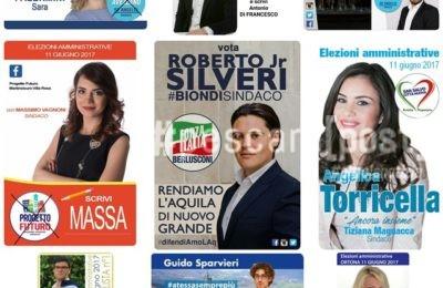 foto candidati elezioni forza italia giovani abruzzo