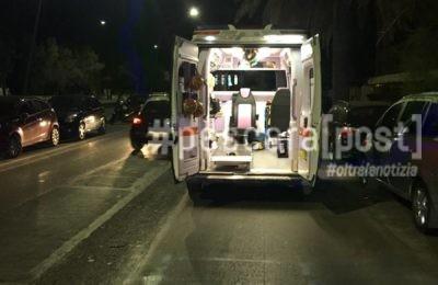 ambulanza notte lungomare