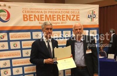 cacciagrano sambuceto premio benemerenze roma