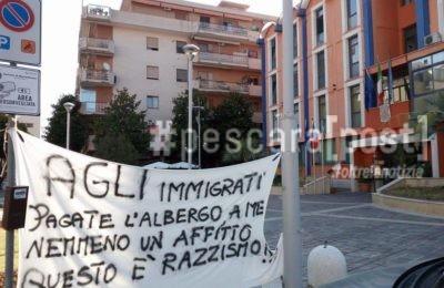 comune montesilvano protesta
