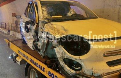 incidente galleria circonvallazione francavilla