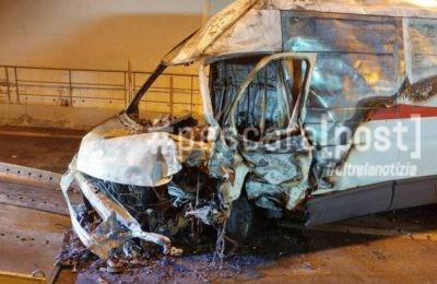 incidente galleria circonvallazione morto