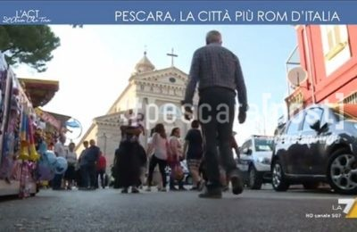 pescara rom la 7 video