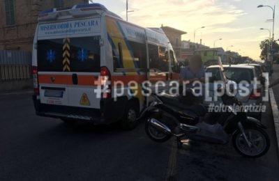 scooter ambulanza montesilvano