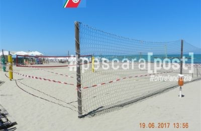 sequestro campo beach tennis stabilimento pescara
