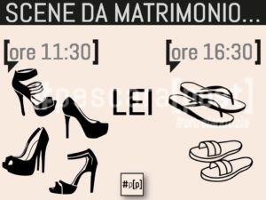 scene da matrimonio lei
