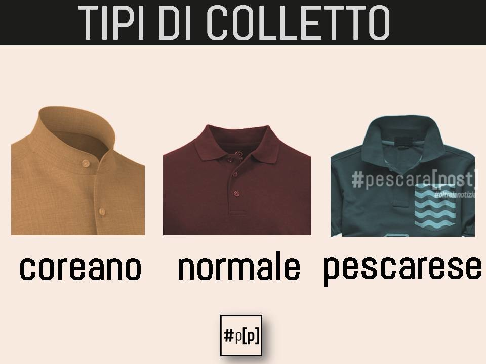 tipi colletto