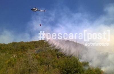 incendio elicottero