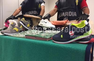 sequestro montesilvano merce contraffatta guardia di finanza