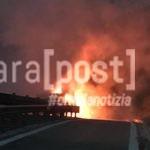 incendio a25 veicolo in fiamme (1)