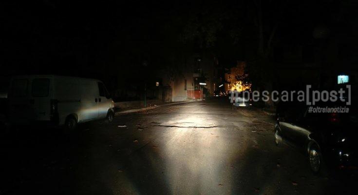 via san francesco buio blackout