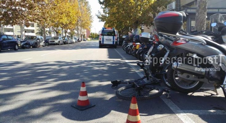 incidente bici viale pindaro universita