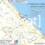 mappa maratona dannunziana pescara