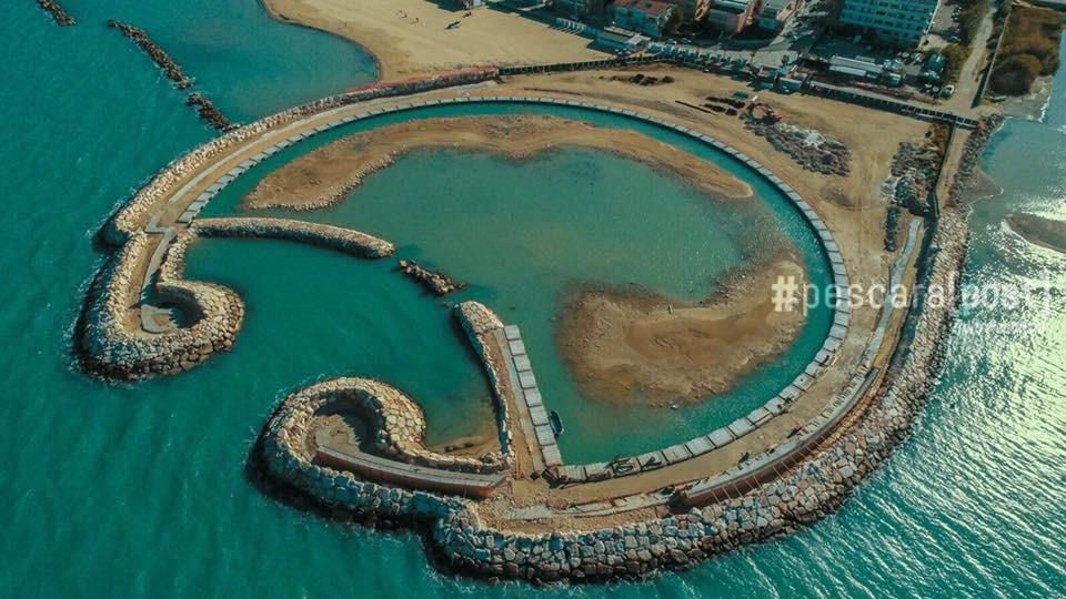 Porto turistico francavilla al mare i lavori visti dall for Mobilia arredamenti francavilla al mare