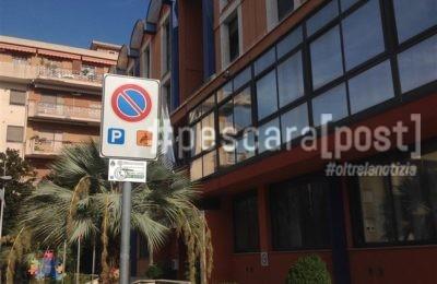 posto disabili cartello comune montesilvano