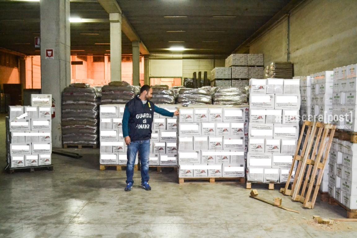 San giovanni teatino sequestrato sito produzione pellet for Magri arreda san giovanni teatino