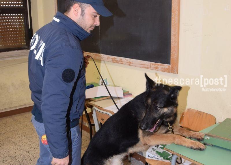 Droga nel bagno della scuola la scoperta della polizia con i cani a chieti scalo pescarapost - Nel bagno della scuola ...