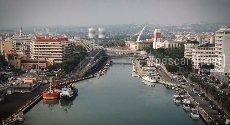 Pescara Camera Live : Pescara dal drone raccontata in dialetto: immagini dallalto di