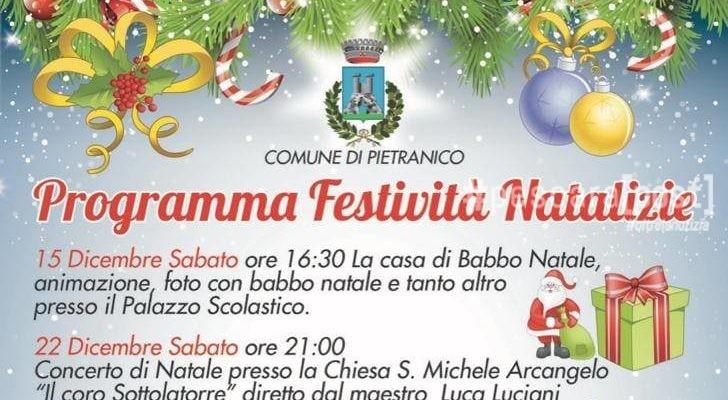 Eventi Natale.Pietranico Eventi Natale Programma Dicembre 2018 E Gennaio