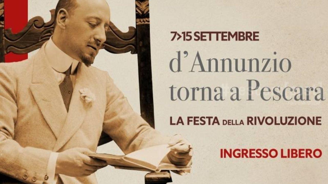Eventi Pescara D Annunzio Week Programma E Orari Dal 6 Al 15