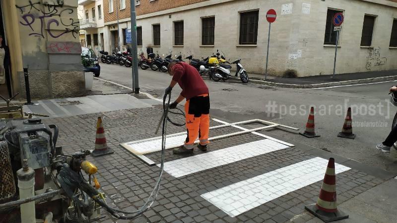 Lavori in via Trieste a Pescara: i dettagli [FOTO] - PescaraPost